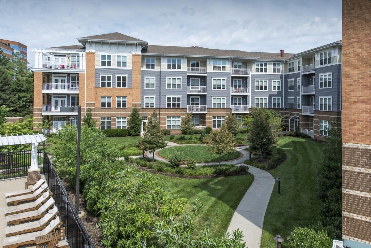 The falls at flint hill apartments in oakton corporate